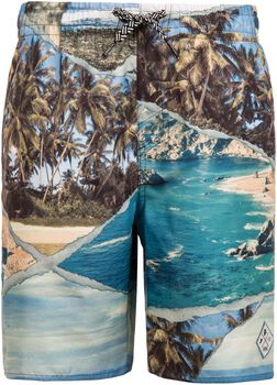 Protest Melt jr beachshort Jongens Grijs