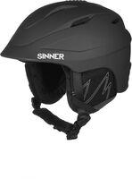 Sinner Gallix II helm Zwart