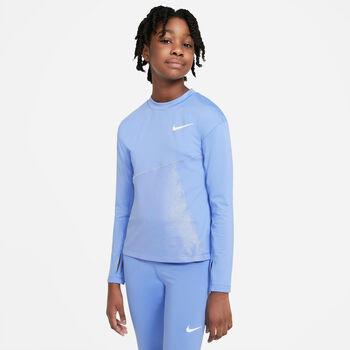 Nike Pro Warm kids top Meisjes Blauw