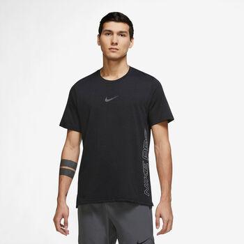 Nike Pro Dri-FIT Burnout shirt Heren Zwart