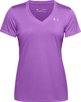 Under Armour Tech SSV - Solid t-shirt Dames Roze