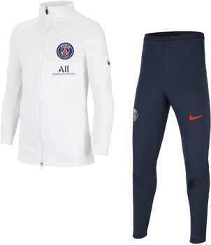 Nike Paris Saint-Germain Strike kids trainingspak Jongens Wit
