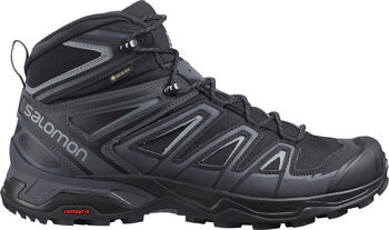 Salomon X Ultra 3 Mid GTX wandelschoenen Heren Zwart