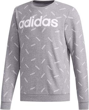 ADIDAS All Over Print sweater Heren Grijs