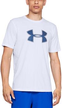 Under Armour Big Logo t-shirt Heren Wit
