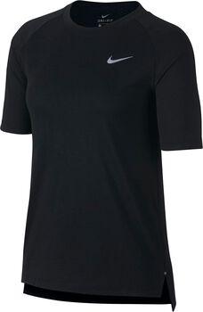 Nike Tailwind Short-Sleeve shirt Dames Zwart