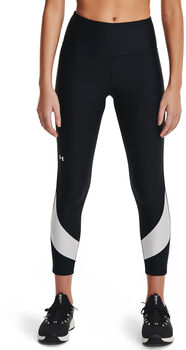Under Armour HeatGear® Armour Taped Ankle Legging Dames Zwart