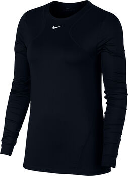 Nike All Over Mesh longsleeve Dames Zwart