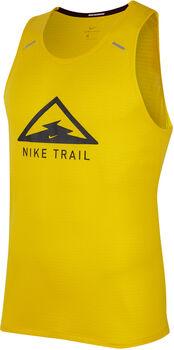 Nike Rise 365 Trail tank Heren Geel