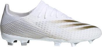 adidas X Ghosted.3 Firm Ground Voetbalschoenen Heren Wit