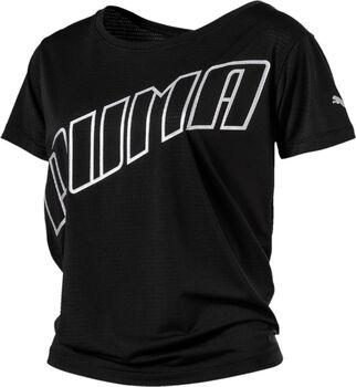 Puma Ahead Slogan shirt Dames Zwart