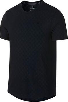 Nike Court Challenger tennisshirt Heren Zwart