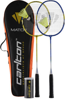 Dunlop Macht Set 100 badmintonset Zwart