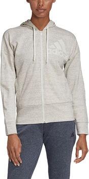 adidas Melange hoodie Dames Grijs