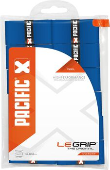 Pacific Le Grip 0.50mm tennis overgrip Blauw
