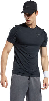 Reebok Workout Ready ACTIVCHILL t-shirt Heren Zwart