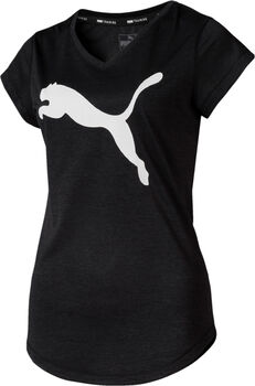 Puma Heather Cat shirt Dames Zwart