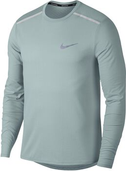 Nike Breathe Tailwind shirt Heren Zwart
