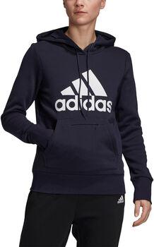adidas Badge of Sport Pullover Fleece Hoodie Dames Blauw