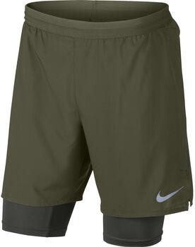 """Nike Distance 2-in-1 7"""" short Heren Groen"""