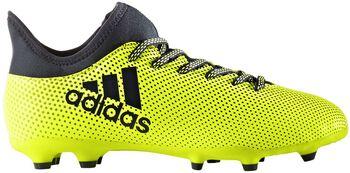 ADIDAS X17.3 FG jr voetbalschoenen Geel
