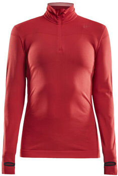 Craft Fuseknit Comfort 1/4-Zip top Dames Grijs
