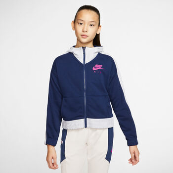Nike Air Full Zip kids vest Blauw