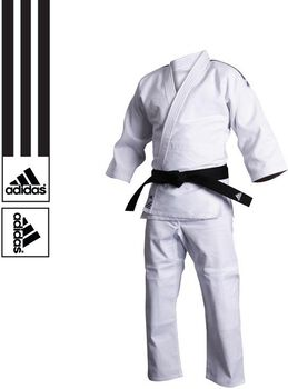 adidas J500 Training judopak Heren Wit