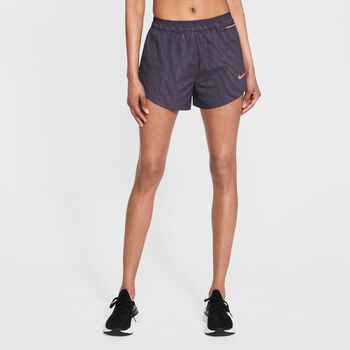 Nike Tempo Luxe short Dames Blauw