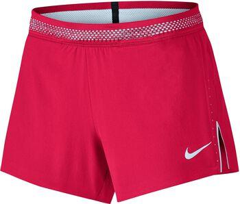 Nike Aeroswift Running Short Dames Rood