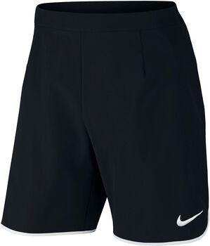 Nike Court Flex tennisshort Heren Zwart
