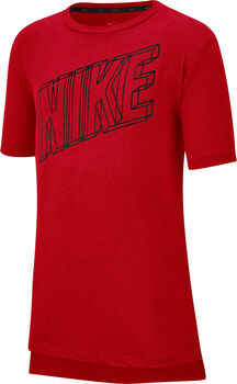 Nike Breath Graphic Training shirt Jongens Rood
