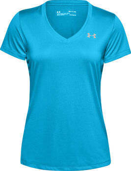 Under Armour Tech SSV - Solid t-shirt Dames Blauw