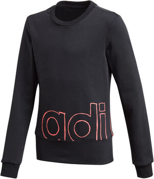 adidas Logo kids sweater  Meisjes Zwart