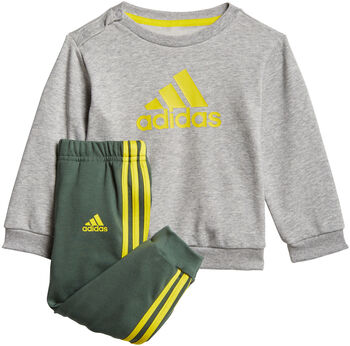 adidas Badge of Sport French Terry Joggingpak Jongens Grijs