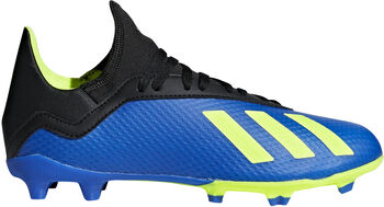 ADIDAS X 18.3 FG jr voetbalschoenen Blauw