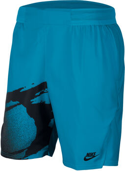 Nike Court Slam short Heren Blauw