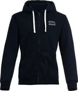 RUSSELL Zip Through hoodie Heren Blauw
