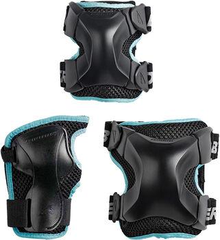 Rollerblade X-Gear W 3 Pack beschermers Zwart