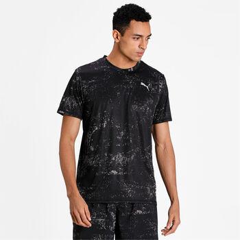 Puma Run Graphic shirt Heren Zwart