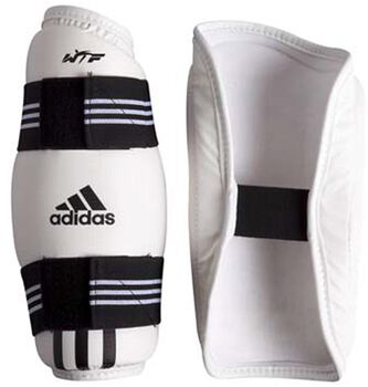 ADIDAS BOXING WTF Approved onderarmbeschermers Wit