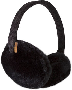 Barts Plush oorwarmers Zwart