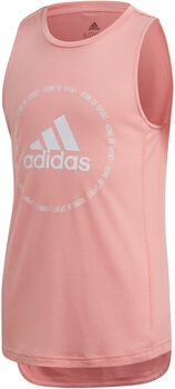 adidas Bold Prime kids top Rood