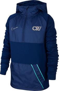 Nike CR7 Dry RPL Drill hoodie Blauw