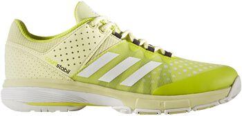 Adidas Court Stabil indoorschoenen Dames Geel