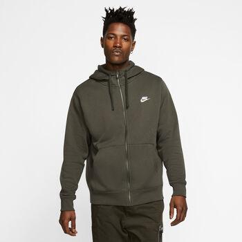 Nike Sportswear Club hoodie Heren Groen