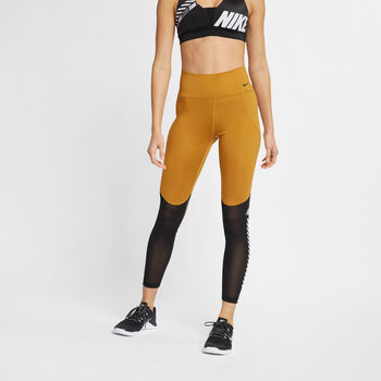 Nike All-In 7/8 tight Dames Geel