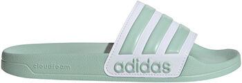 adidas Adilette Shower Badslippers Dames Groen