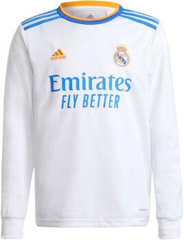 adidas Real Madrid Longsleeve kids thuisshirt 21/22 Heren Wit