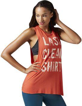 Reebok Studio Faves Muscle shirt Dames Oranje